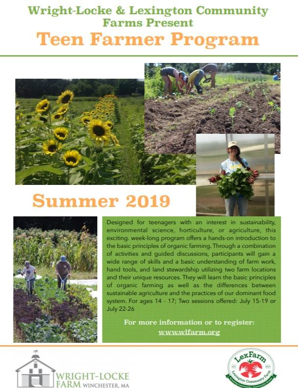 Sign Up for July Teen Farmer Program